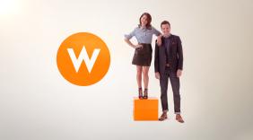 W network channel branding / rebranding by Troika